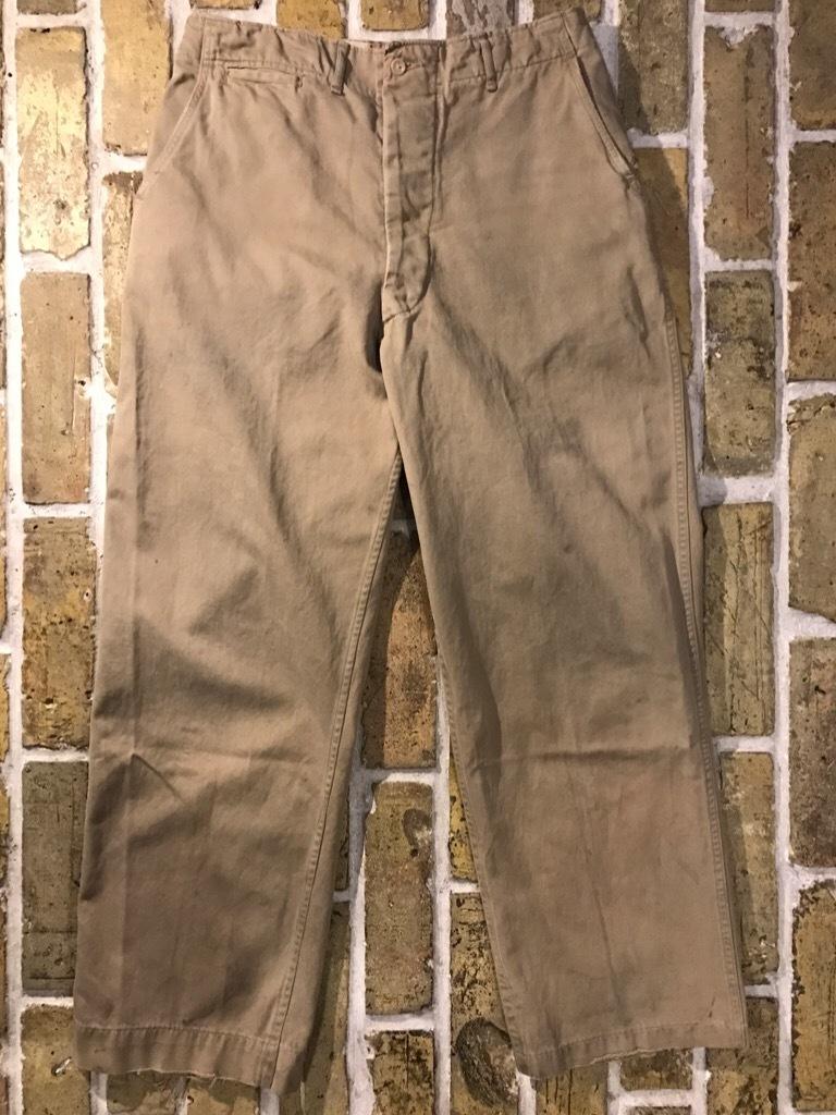 神戸店3/15(水)春物ヴィンテージ入荷!#3 US.Army Metal Button Chino Pants,41Khaki GasFlap,M43HBT Pants!_c0078587_02475406.jpg