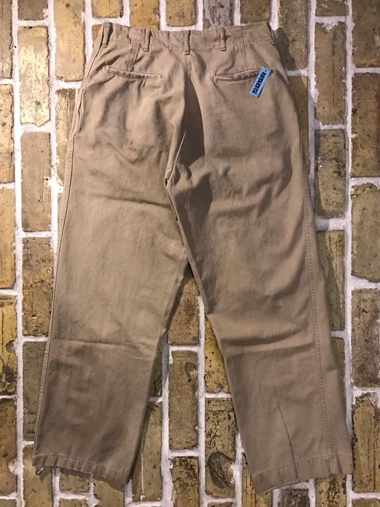 神戸店3/15(水)春物ヴィンテージ入荷!#3 US.Army Metal Button Chino Pants,41Khaki GasFlap,M43HBT Pants!_c0078587_02480031.jpg
