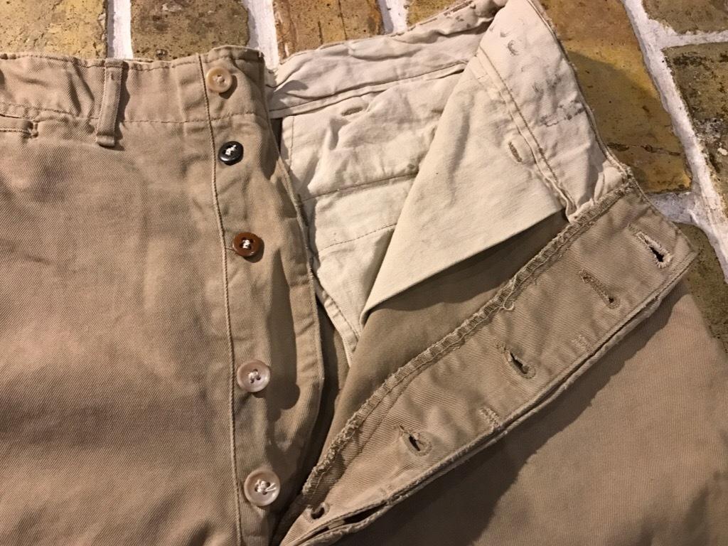 神戸店3/15(水)春物ヴィンテージ入荷!#3 US.Army Metal Button Chino Pants,41Khaki GasFlap,M43HBT Pants!_c0078587_02480605.jpg