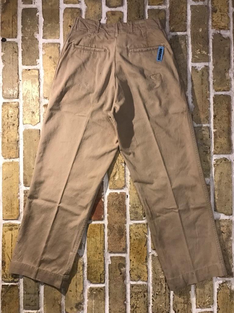 神戸店3/15(水)春物ヴィンテージ入荷!#3 US.Army Metal Button Chino Pants,41Khaki GasFlap,M43HBT Pants!_c0078587_02541957.jpg
