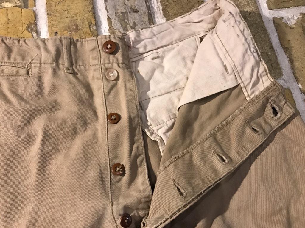 神戸店3/15(水)春物ヴィンテージ入荷!#3 US.Army Metal Button Chino Pants,41Khaki GasFlap,M43HBT Pants!_c0078587_02542281.jpg