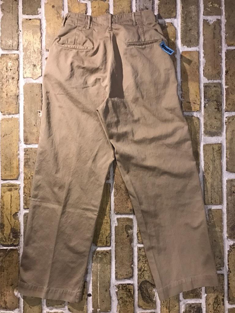 神戸店3/15(水)春物ヴィンテージ入荷!#3 US.Army Metal Button Chino Pants,41Khaki GasFlap,M43HBT Pants!_c0078587_02564234.jpg