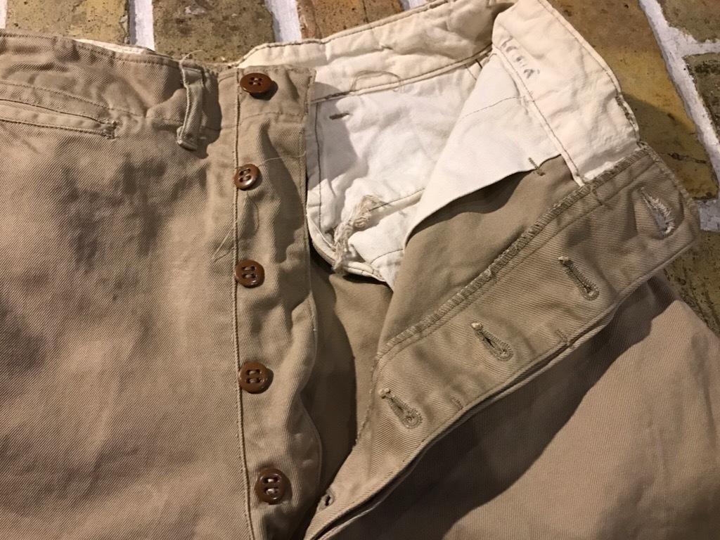 神戸店3/15(水)春物ヴィンテージ入荷!#3 US.Army Metal Button Chino Pants,41Khaki GasFlap,M43HBT Pants!_c0078587_02565120.jpg