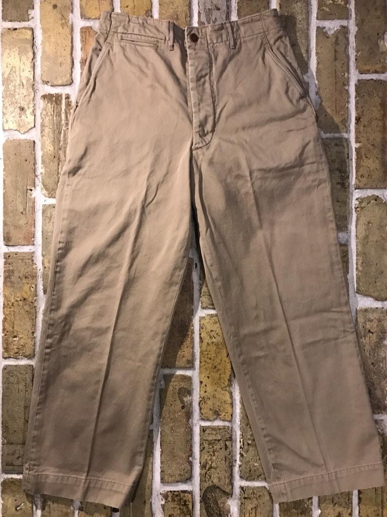 神戸店3/15(水)春物ヴィンテージ入荷!#3 US.Army Metal Button Chino Pants,41Khaki GasFlap,M43HBT Pants!_c0078587_02573637.jpg