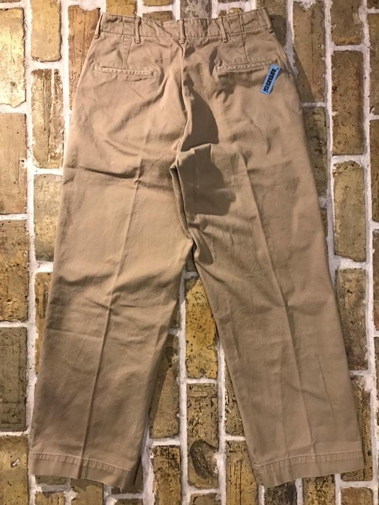 神戸店3/15(水)春物ヴィンテージ入荷!#3 US.Army Metal Button Chino Pants,41Khaki GasFlap,M43HBT Pants!_c0078587_02574348.jpg