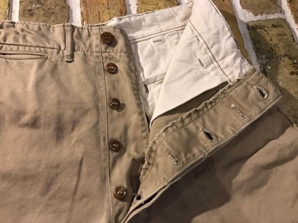 神戸店3/15(水)春物ヴィンテージ入荷!#3 US.Army Metal Button Chino Pants,41Khaki GasFlap,M43HBT Pants!_c0078587_02575181.jpg