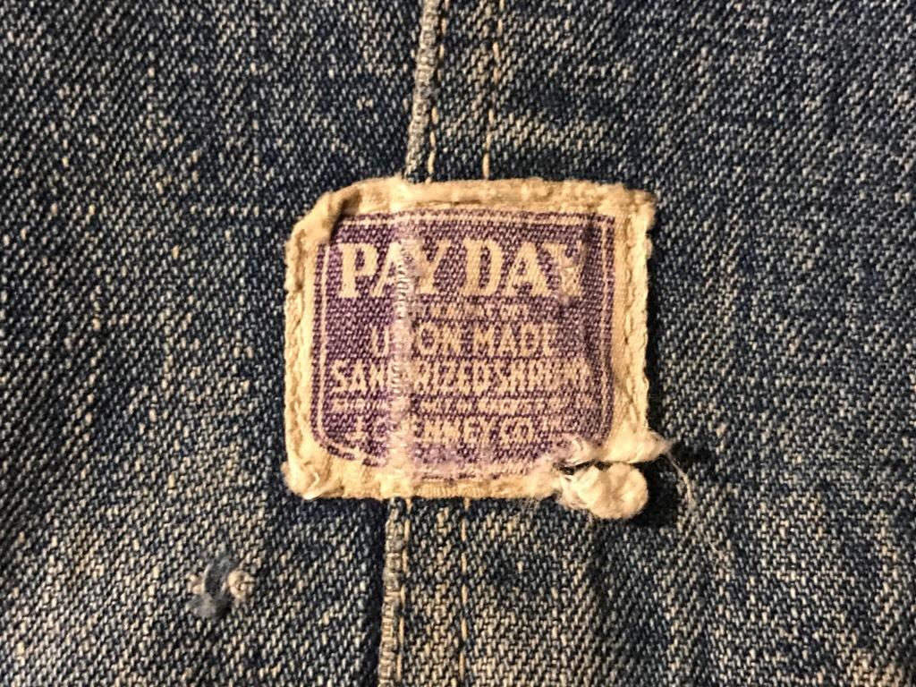 神戸店3/15(水)春物ヴィンテージ入荷!#5 WWⅡ PayDay Over All!Vintage Over All!!!_c0078587_17211001.jpg