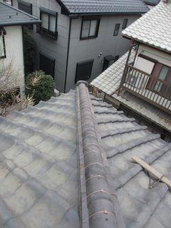 埼玉県のふじみ野市で、瓦屋根修理工事_c0223192_22335896.jpg