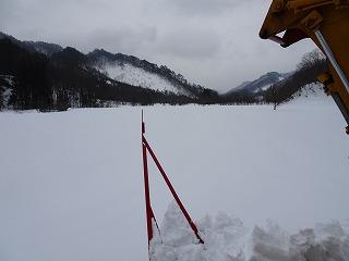 春先除雪の開始_d0122374_23443998.jpg