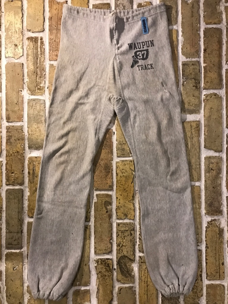 神戸店3/15(水)春物ヴィンテージ入荷!#9 60\'s Champion R.W.Sweat Pants!S/S Vintage Sweat!!!_c0078587_01342377.jpg