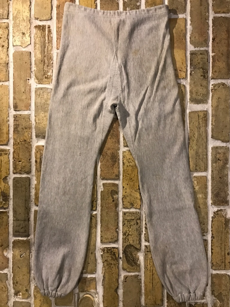 神戸店3/15(水)春物ヴィンテージ入荷!#9 60\'s Champion R.W.Sweat Pants!S/S Vintage Sweat!!!_c0078587_01351266.jpg