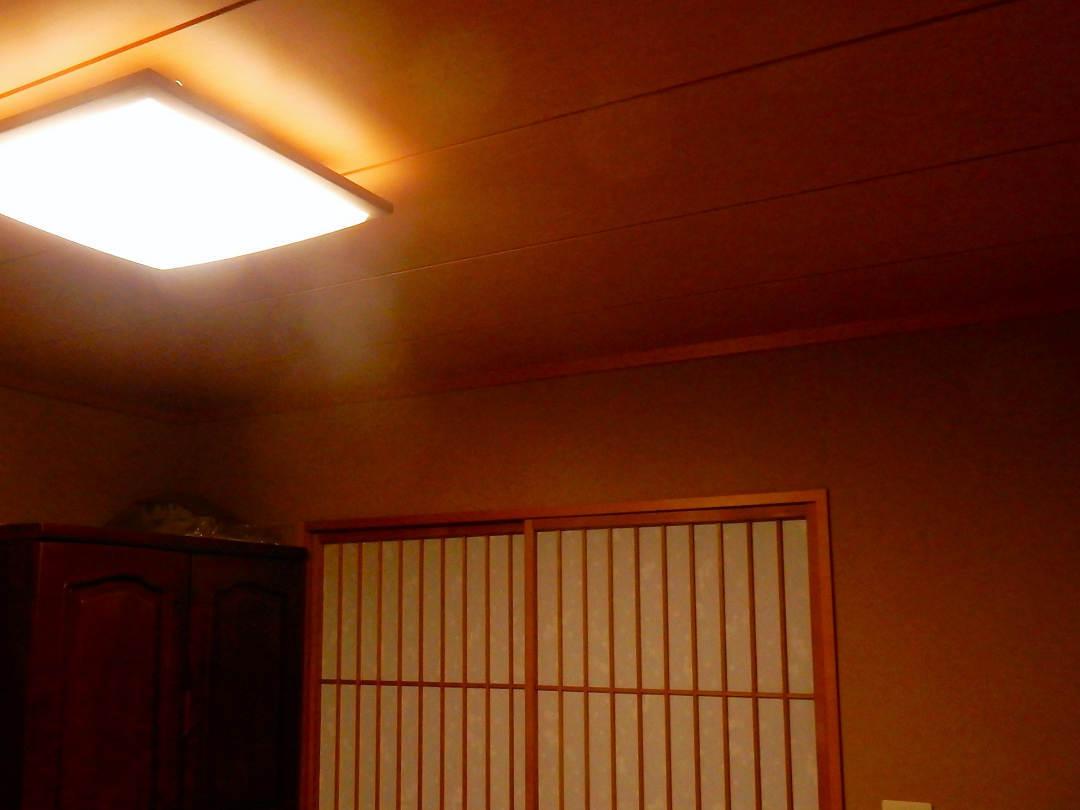 LEDシーリングライトへ変更_a0148206_11470997.jpg