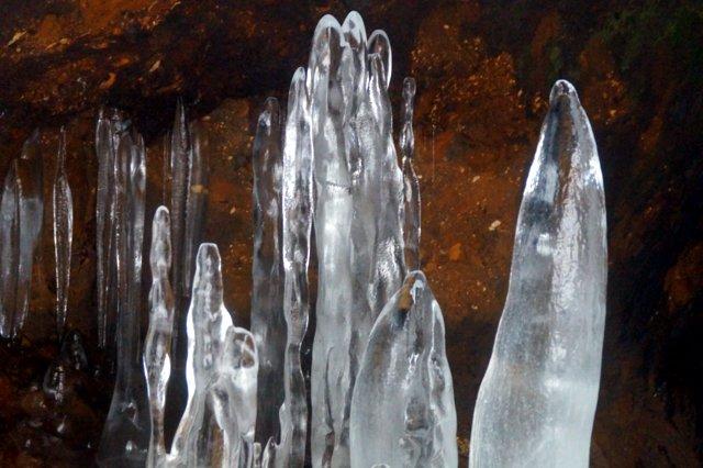 2017年3月14日(水) カルルス洞窟  氷筍_a0345007_16174758.jpg