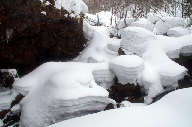 2017年3月14日(水) カルルス洞窟  氷筍_a0345007_1654491.jpg