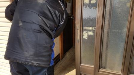 新築くりそつさん~玄関戸の鍵交換まで_a0128408_17232223.jpg