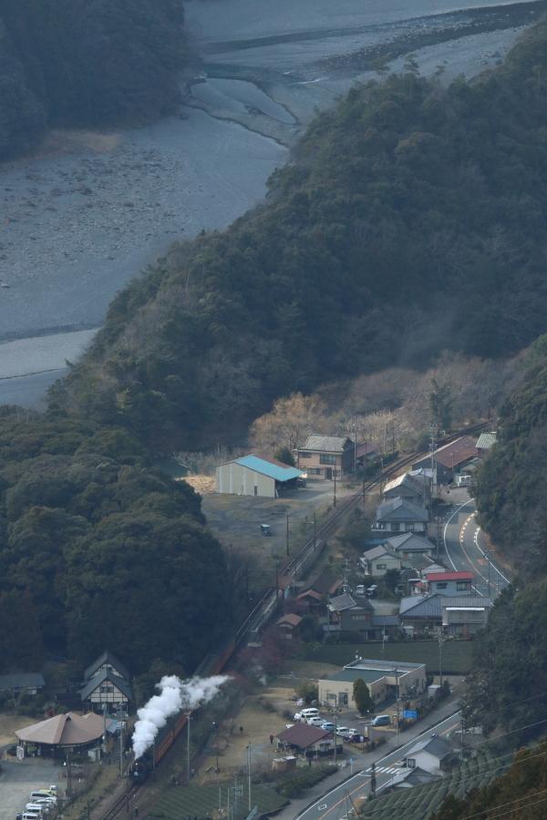 大井川の午後の煙 - 2017年・大井川 -_b0190710_2330396.jpg