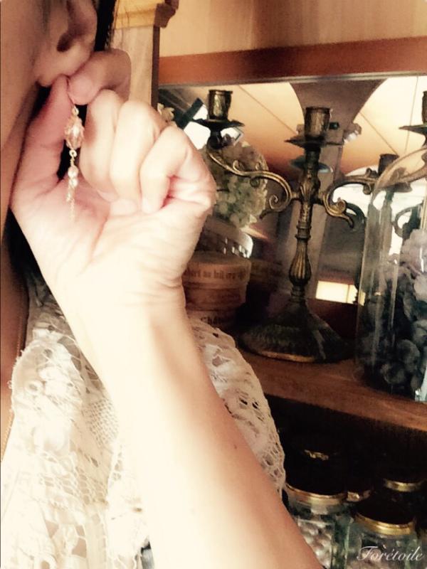 ~image~ヴィンテージ 14kgf ネックレス Rosaline champagne ~ロザリン・シャンパーニュ~_f0377243_11445585.jpg