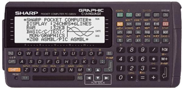 ポケコン PC-G850Vで電子回路工作(3/15)_a0034780_1223957.jpg