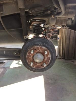 ホンダ THATS ブレーキ整備_c0267693_12350179.jpg
