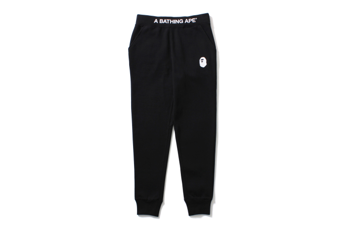 A BATHING APE TAPERED SWEAT PANTS_a0174495_12211546.jpg