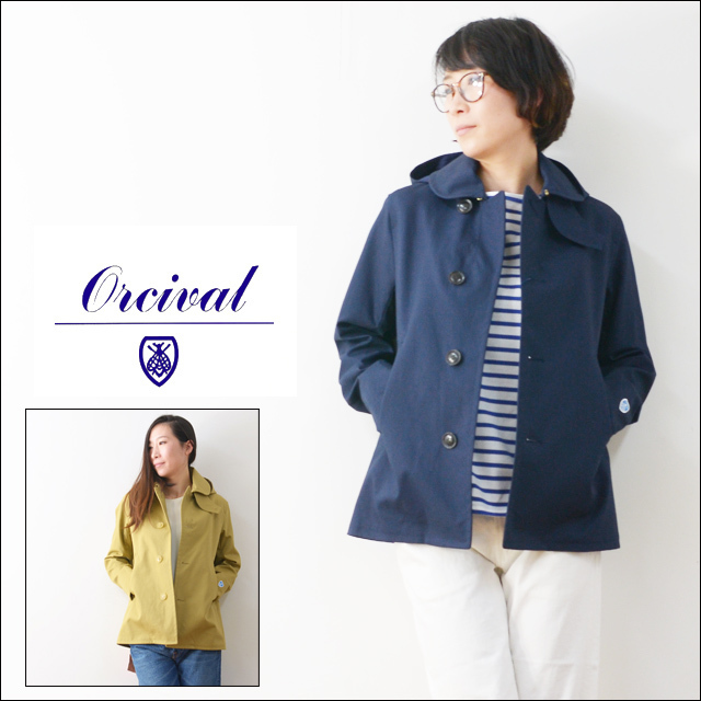 ORCIVAL[オーチバル・オーシバル] COTTON BONDING SINGLE P COAT [RC-8435WB] LADY\'S_f0051306_18180593.jpg