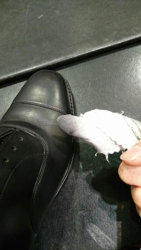 革靴の水洗い方法_b0226322_17173685.jpg
