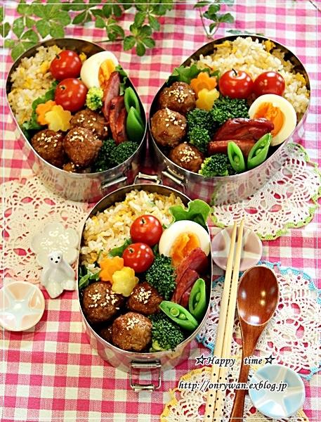 炒飯・肉団子弁当と今夜のおうちごはん♪_f0348032_18331496.jpg