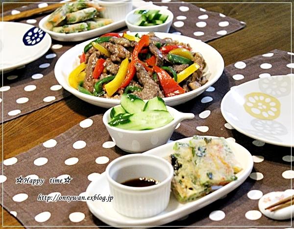 炒飯・肉団子弁当と今夜のおうちごはん♪_f0348032_18332493.jpg