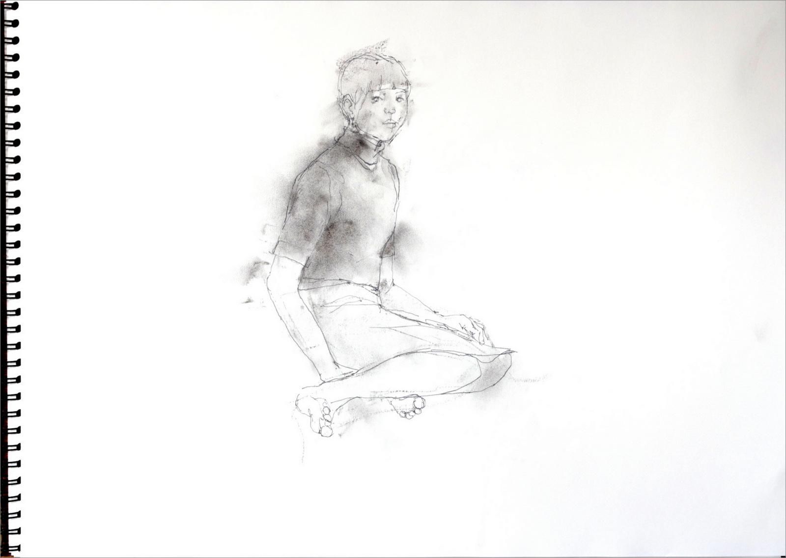 《 少女素描 3 》_f0159856_10595415.jpg