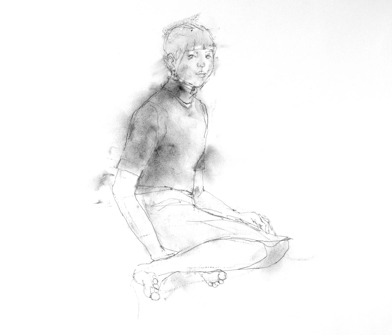 《 少女素描 3 》_f0159856_11025845.jpg