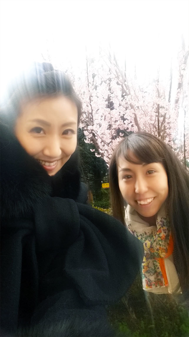 明日は本番☆桜も満開! 嬉しいホワイトデー!_d0224894_21105558.jpg