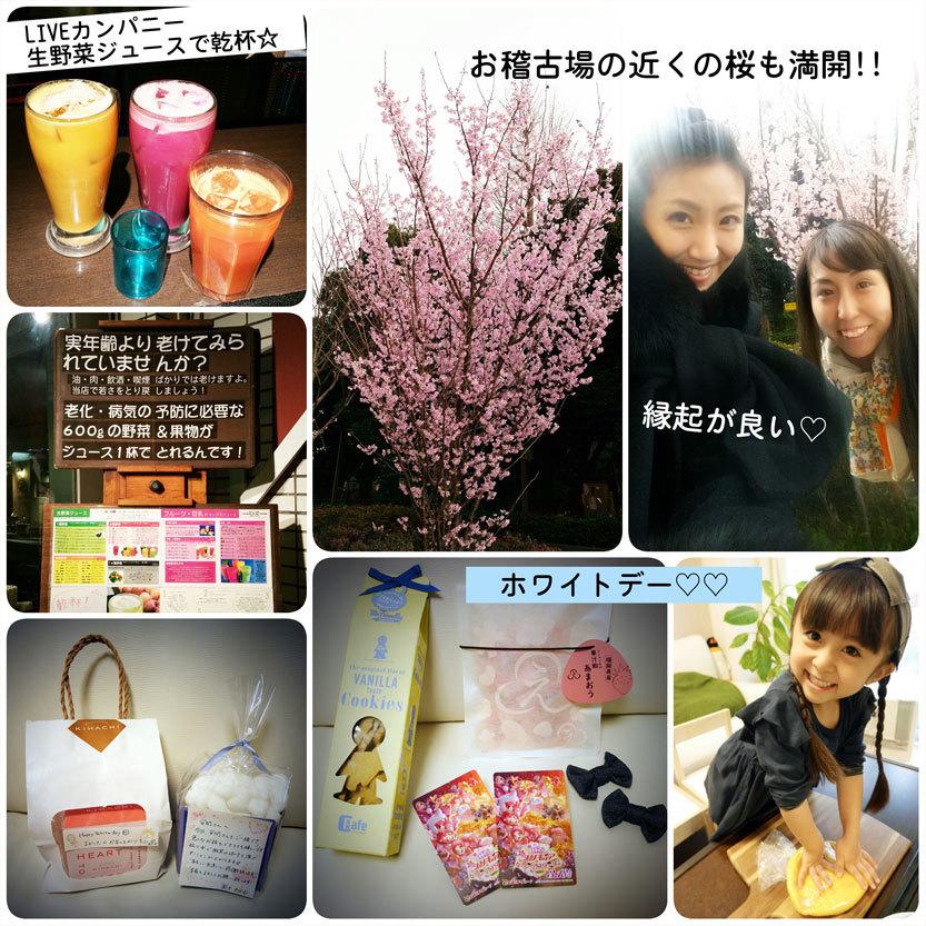 明日は本番☆桜も満開! 嬉しいホワイトデー!_d0224894_22490540.jpg