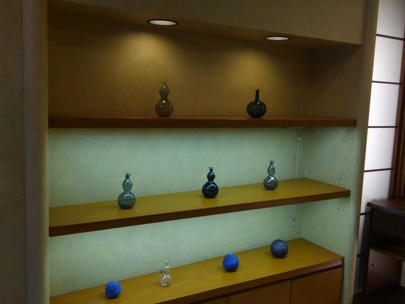 津田清和さんの展示1_f0351305_21335291.jpg