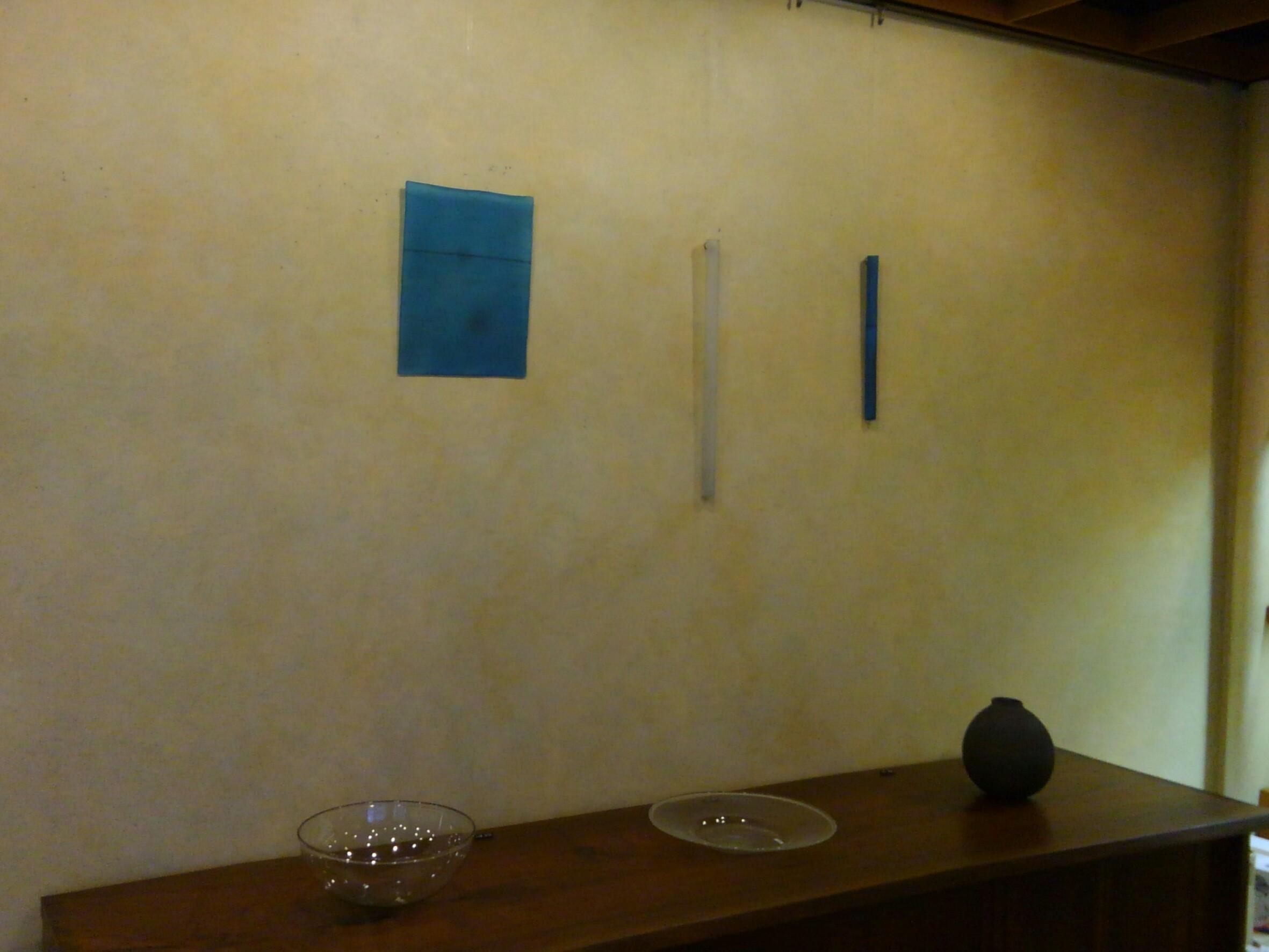 津田清和さんの展示1_f0351305_21343454.jpg