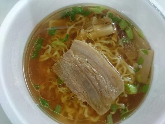3/16夜勤食  マルちゃん×セブン&アイ  Japanese Soba Noodles 蔦_b0042308_01550348.jpg