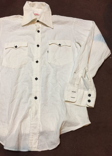 3月18日(土)入荷!70s Levi\'s BIG E シャツ!all cotton !_c0144020_14120911.jpg