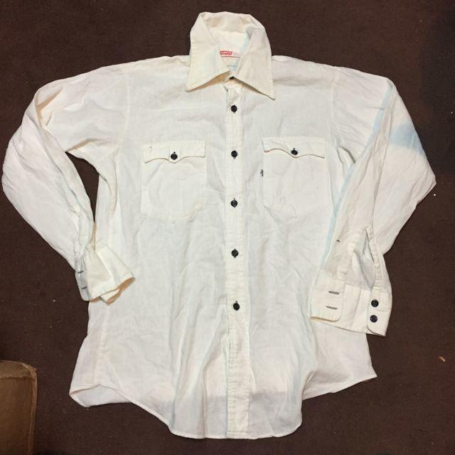 3月18日(土)入荷!70s Levi\'s BIG E シャツ!all cotton !_c0144020_14121164.jpg