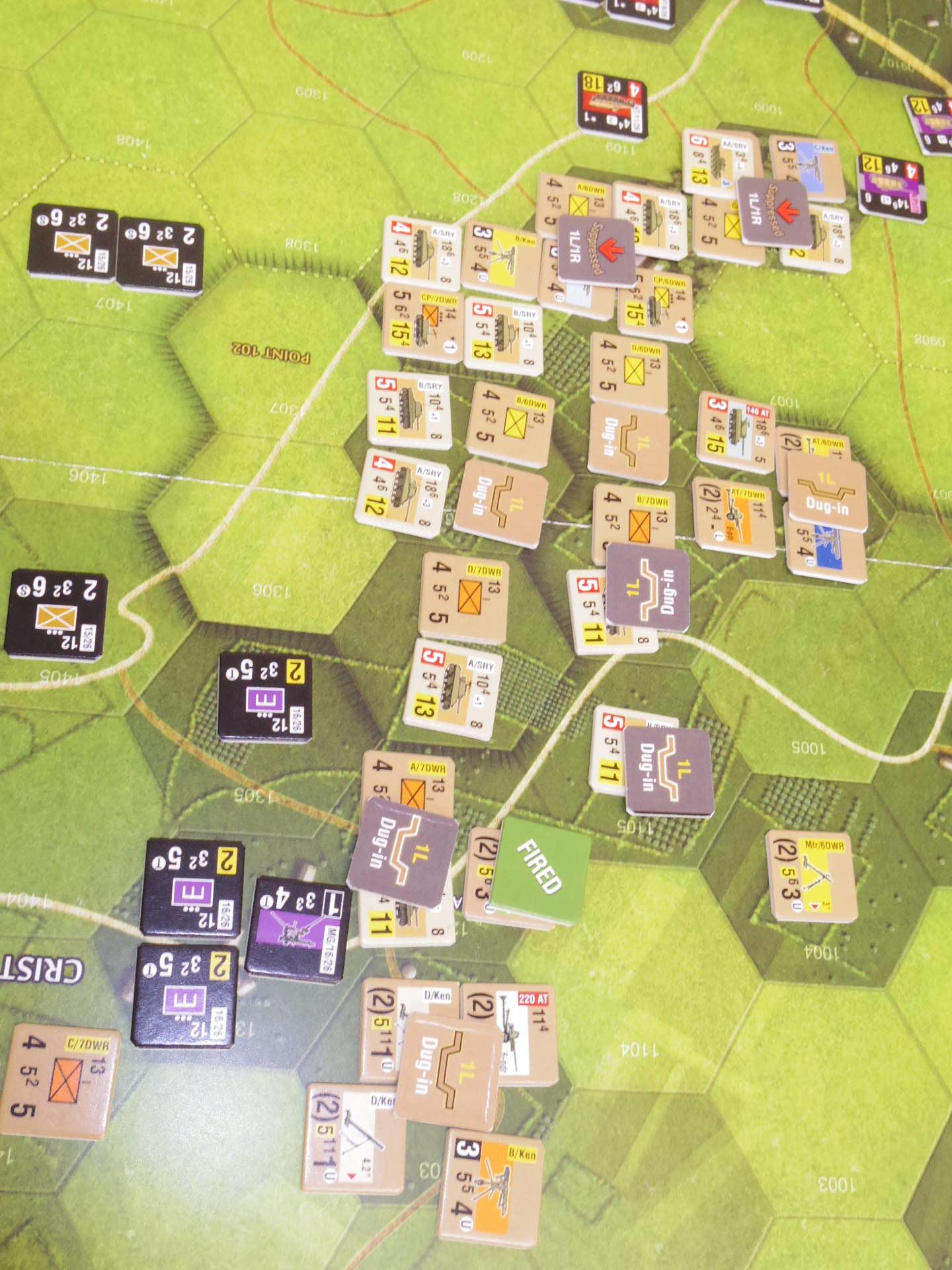 YSGA三月例会の様子その7〔(GMT)Operation Dauntlessシナリオ18.3「Heavy Counterattack」 1944年6月18日14:00〜〕_b0173672_06531452.jpg