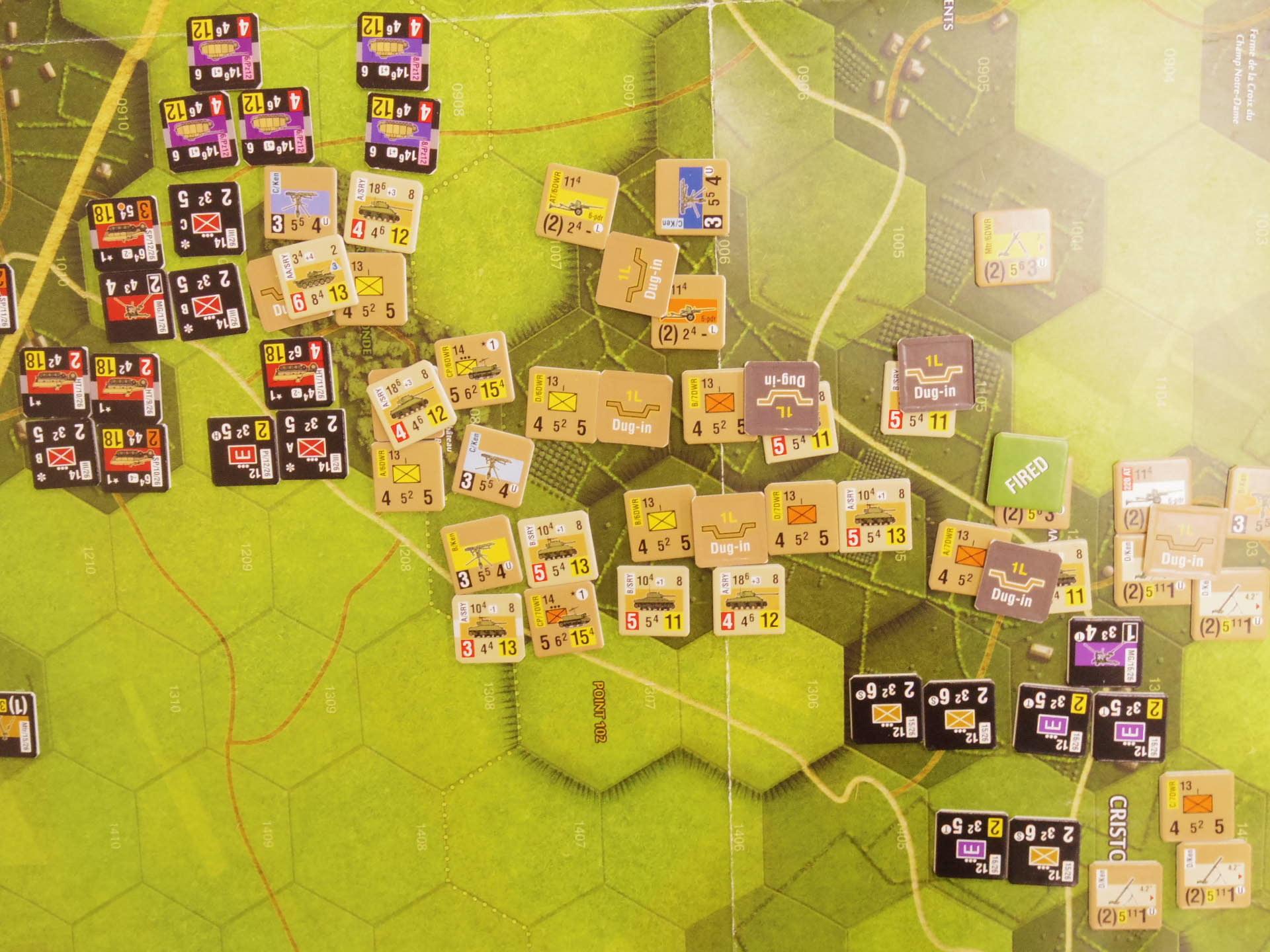 YSGA三月例会の様子その7〔(GMT)Operation Dauntlessシナリオ18.3「Heavy Counterattack」 1944年6月18日14:00〜〕_b0173672_06531552.jpg