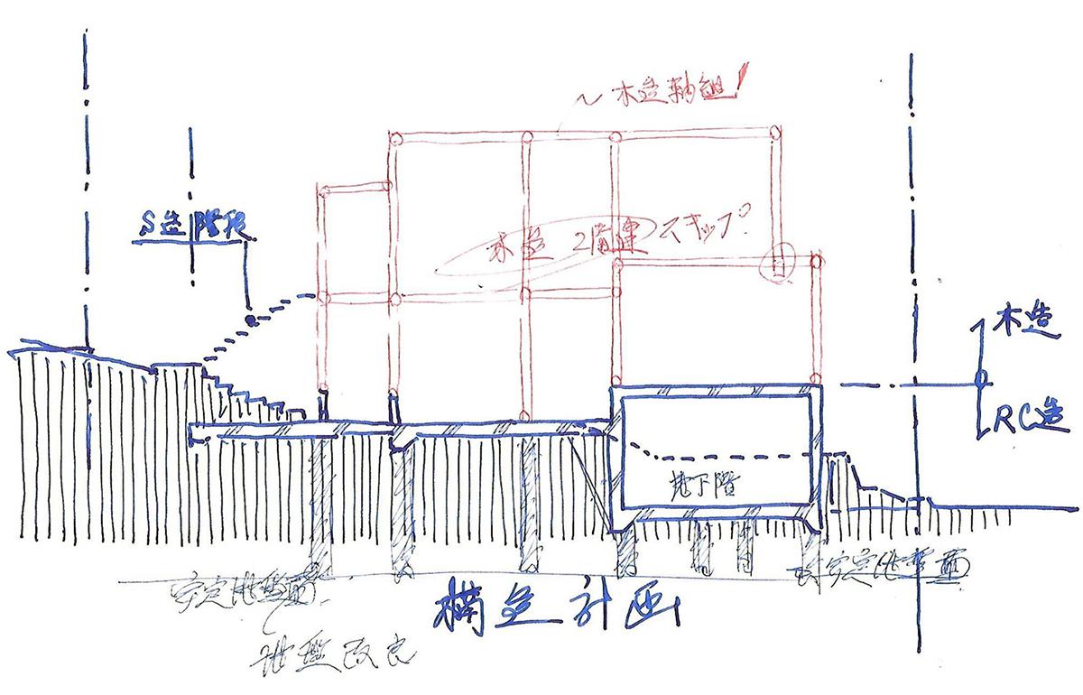 構造計画スケッチ_b0114785_08383939.jpg