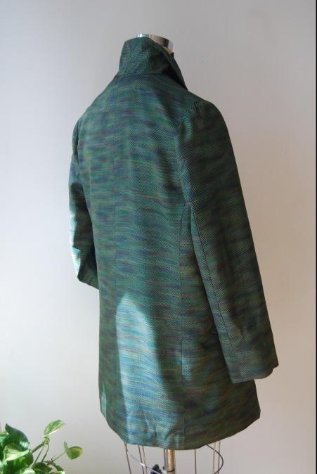 着物リメイク・へチマ襟のロングジャケット_d0127925_01073401.jpg