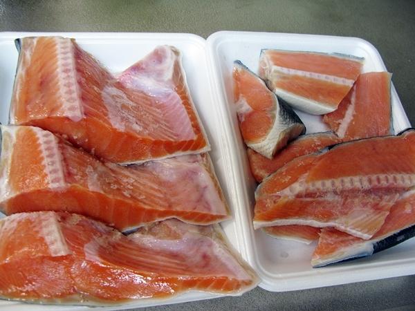 鮭フレーク 出来ました。_f0129726_19221486.jpg