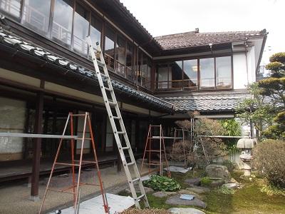 「芭蕉の館」屋根の水まわり修復工事。_f0289632_12225043.jpg