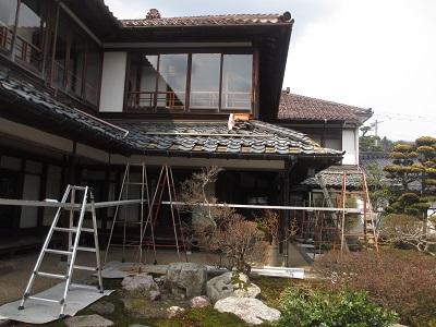 「芭蕉の館」屋根の水まわり修復工事。_f0289632_12231548.jpg