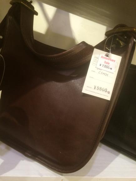 OLD  COACHも周年セール☆_a0108963_01141397.jpg