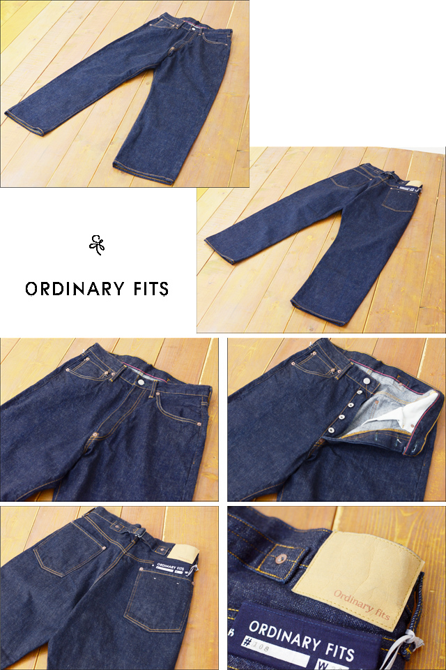 ordinary fits [オーディナリー フィッツ] FARMERS 5P DENIM PANTS one wash [OM-P108OW] MEN\'S/LADY\'S_f0051306_19092345.jpg