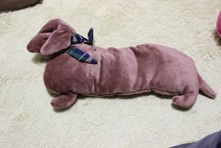 犬の形の湯たんぽ_e0371017_11582636.jpg