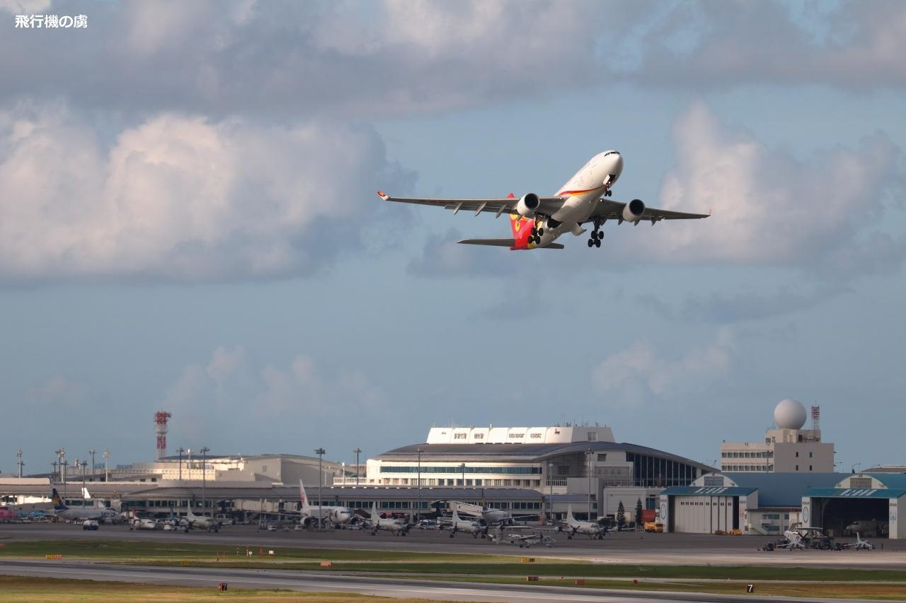 陽のあたる方へ  A330  香港航空(HX)_b0313338_19453641.jpg