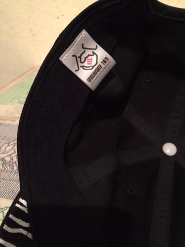"""ALLAROUND×mas. \""""UNSAVORY TIES CAP\""""_e0121640_16235093.jpg"""