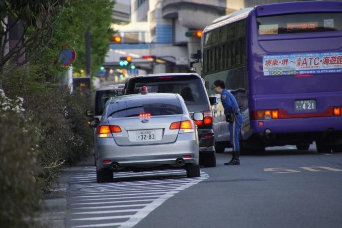 咲洲トンネルはシルバーのレガシーに気を付けろ!_b0017844_19003606.jpg
